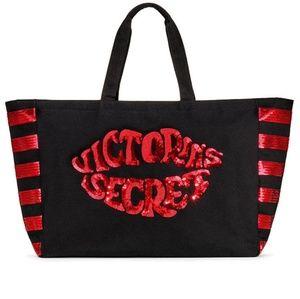 Victoria's Secret Sequin Lips Tote